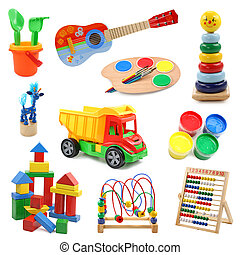 kollektion, toys