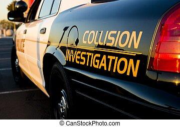 kollision, undersøgelse