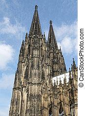 kolonia, niemcy, katedra, kolonia