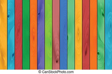 kolor, drewno, tło