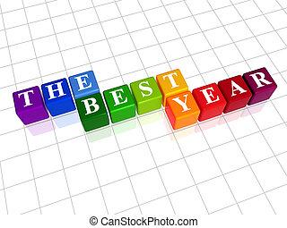 kolor, najlepszy, rok