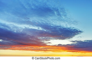 kolor, niebo, tło