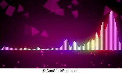kolor, stabilizator, abstrakcyjny, muzyka