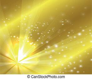 kolor, złoty, projektować, pękać