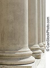 kolumny, sprawiedliwość, prawo