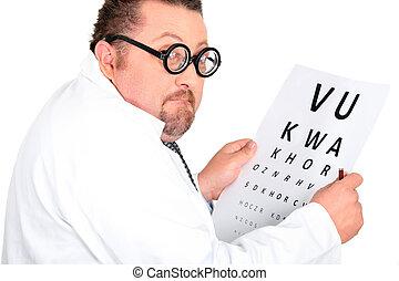 komödie, optiker