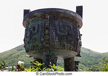 kom, lantau, ceremonial, eiland