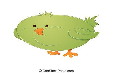 komický, ptáček