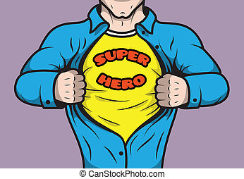 komik książka, superhero, zamaskowany