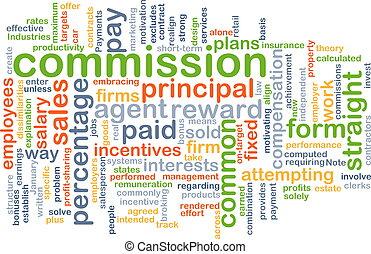 komisja, pojęcie, tło