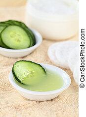 komkommer, zelfgemaakt, toner