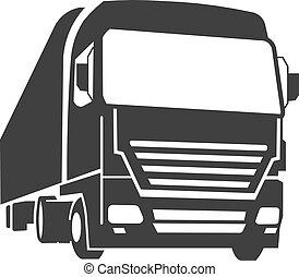 kommerciel, lastbil