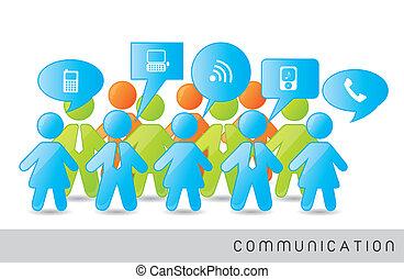 kommunikáció