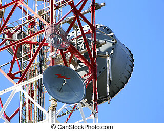 kommunikation, antenne