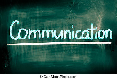 kommunikation, begreb
