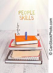 kommunikation, färgad, hög, skills., affär, få, ...