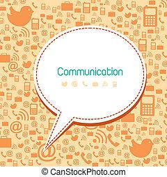 kommunikation, heiligenbilder