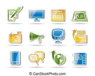 kommunikation, kanaler