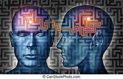 kommunikation, lösungen