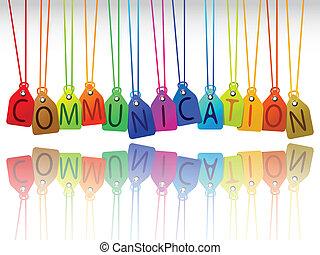 kommunikation, märken