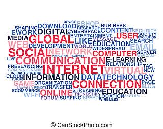 kommunikation, sociale