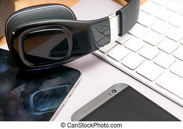 kommunikation, technologie, ausrüstung