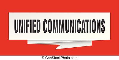 kommunikation, vereinigt