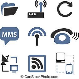 kommunikation, zeichen & schilder
