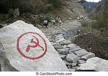 kommunistisch, nepal