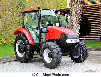 kompakt, tractor.