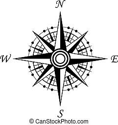 kompass, symbol