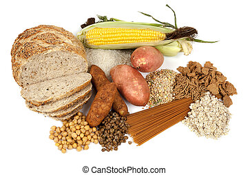 komplekse kulhydrater, mad, kilder