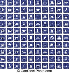 komplet, grunge, ikony, szafir, 100, jazda konna