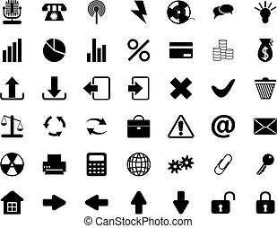 komplet, ikony