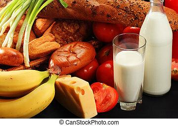 komplet, jadło, zdrowy