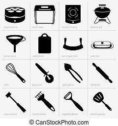 komplet, naczynia kuchenne