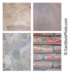 komplet, od, abstrakcyjny, kamień, tło