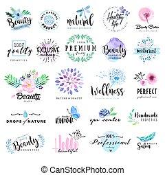 komplet, piękno, symbole