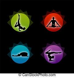 komplet, yoga, pilates