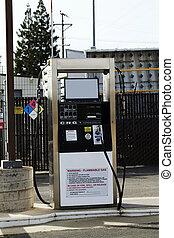komprimerat, naturlig gasa, pump, cng, tanka