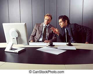 komputer, businesspeople