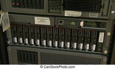 komputer, system, kloc, urządzenie obsługujące