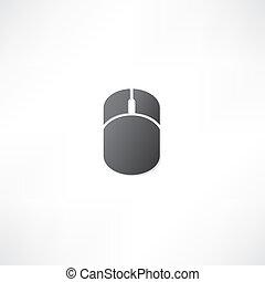 komputerowa mysz, ikona