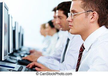 komputerowa praca