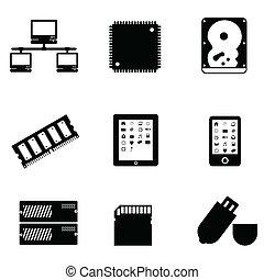 komputerowa strona, urządzenia