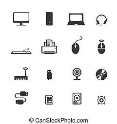 komputerowe ikony