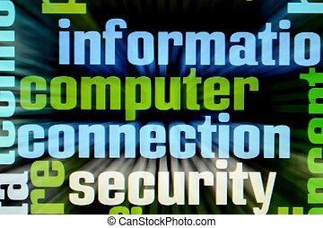komputerowe połączenie, bezpieczeństwo