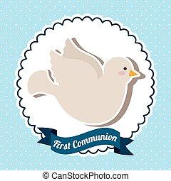 komunia, mój, pierwszy