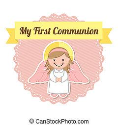 komunia, pierwszy