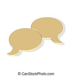 komunikace, bublina, firma